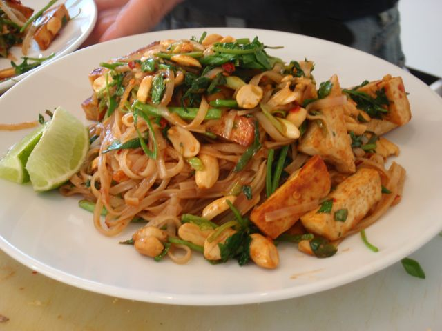 Vegan Pad Thai | Adventures of a Vegan Foodie