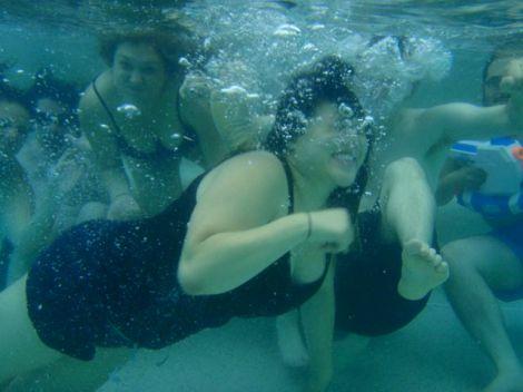 Gang in the pool